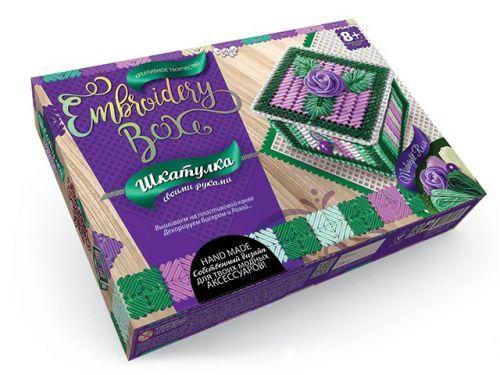 "Набор для творчества ""Шкатулка Embroidery Box: Midnight Rose""  sco"
