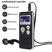 Цифровой диктофон Shzons CE148, 8 Гб, активация голосом.