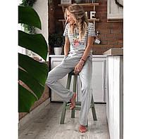 Пижама женская с брюками, фото 1