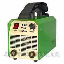 Сварочный инвертор АТОМ I-200H без сварочных кабелей и штекеров (вариант E)