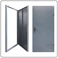 Металлическая входная - техническая дверь