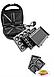 Электровафельница, орешница, гриль, бутербродница  Мультимейкер Livstar Lsu-1219 800 Вт 4 в 1, фото 4
