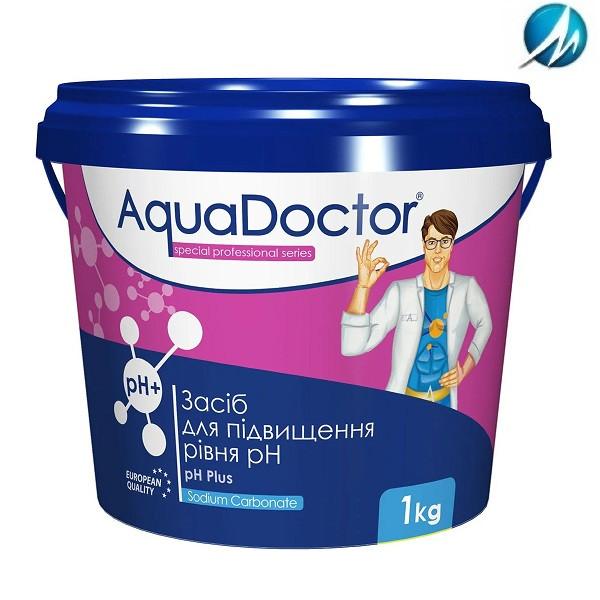 Средство для повышения уровня pH AquaDoctor pH Plus, 1 кг