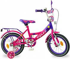 """Дитячий велосипед Impuls Kitty 16"""" для дівчаток від 4 до 6 років"""