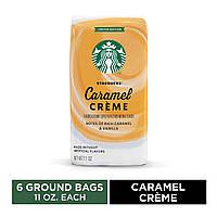 Кофе Starbucks Caramel Crème Flavored Ground Coffee