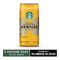 Молотый кофе Starbucks Blonde Roast Ground Coffee 340g