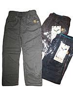 Брюки котоновые (утепленные)  для мальчика, размеры 98 арт. В 41624, фото 1