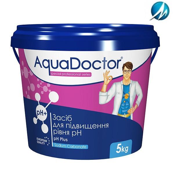 Средство для повышения уровня pH AquaDoctor pH Plus, 5 кг