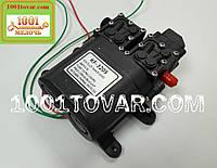 Насос усиленный с датчиком давления 12 V, 8 bar модель KF-3205 для замены электроаккумуляторных опрыскивателях