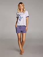 Женская пижама с шортами Ellen 238/002  (Колибри) р.S-XL