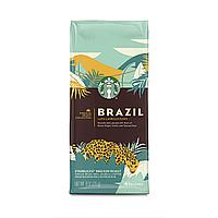 Кофе в зернах Starbucks Brazil Medium Roast  Coffee 255g