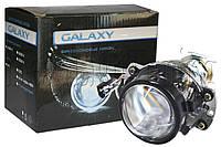 """Биксеноновая линза Galaxy G5 2,5"""" (⌀64мм) H1, маски без глаз (1шт), фото 1"""