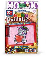 """Картина-мозаика из пайеток """"Baby Paillette: Мишка""""  sco"""