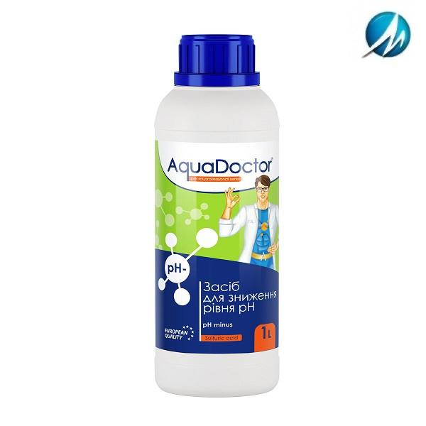 Средство для снижения pH AquaDoctor pH Minus (Серная 35%), 1 л