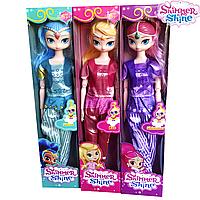 Набор шарнирных кукол из мультика Shimmer & Shine/ Шиммер & Шайн 30см (3шт) sct