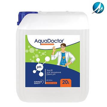 Средство для снижения pH AquaDoctor pH Minus (Серная 35%), 20 л