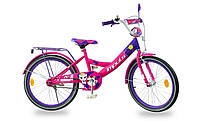 """Детский велосипед Impuls Kitty 20"""" для девочек от 6 до 9 лет"""