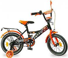 """Дитячий велосипед Impuls Beaver 16"""" для хлопчиків від 4 до 7 років"""