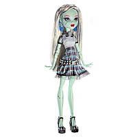 Лялька Монстер Хай Френкі Штейн Вона Жива! світиться в спідниці Monster High Frankie Stein Ghouls Alive! Doll 27см