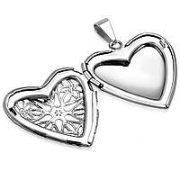 Кулон медальйон «Серце» (відкривається), фото 1