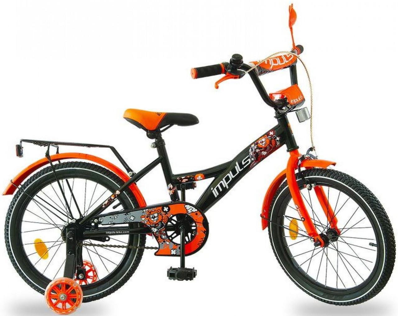 """Детский велосипед Impuls Beaver 18"""" для мальчиков от 5 до 8 лет"""