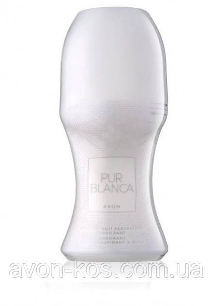 Дезодорант-антиперспирант с шариковым аппликатором  Avon Pur Blanca дезодорант кульковий для жінок 50 мл