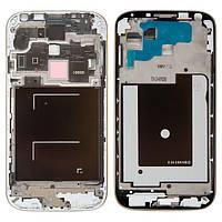 Рамка крепления дисплея для Samsung I9500 Galaxy S4, серебристый