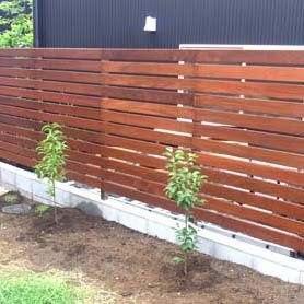 Деревянный горизонтальный забор LNK Company