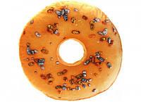 3D Подушка Пончик апельсиновый с изюмом (p-27)