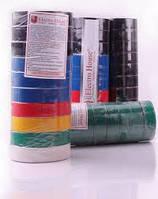 Профессиональная негорючая водо и маслостойкая ПВХ изолента высшего класса (0,17мм*18мм*11м) черная