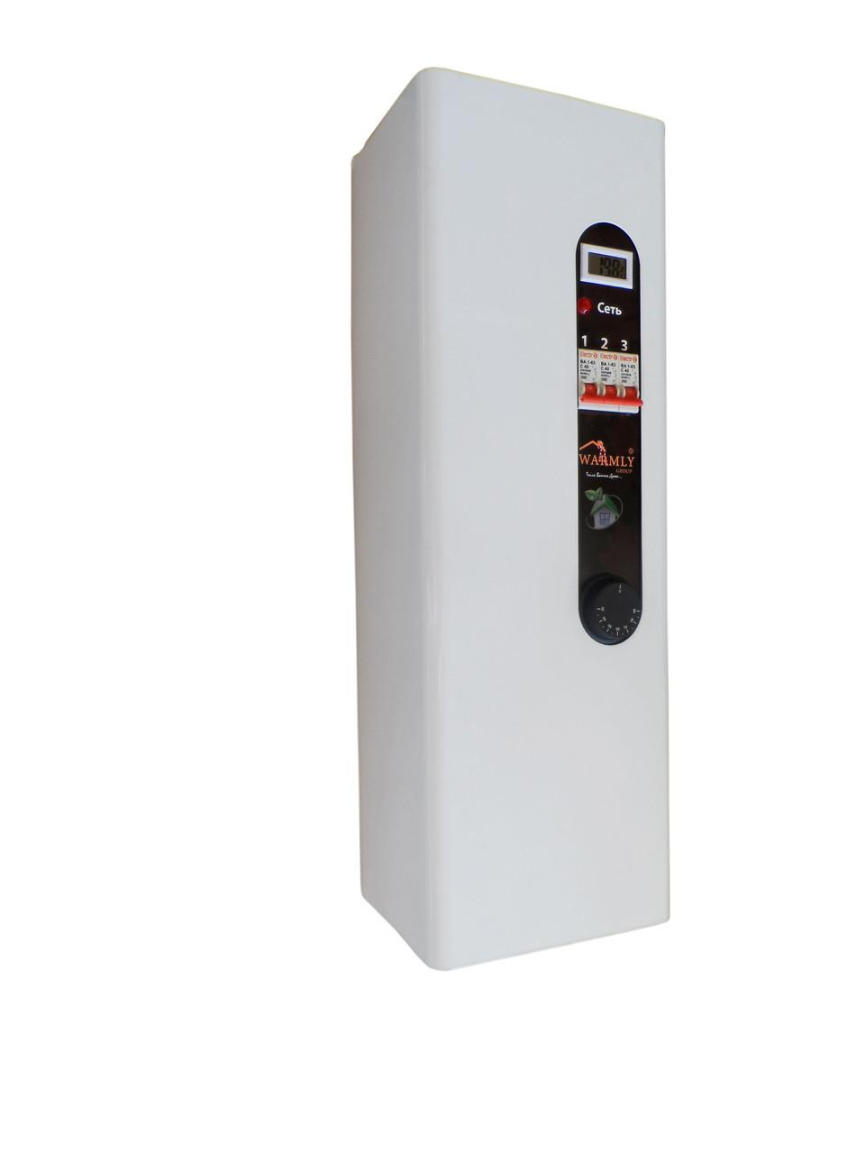 Электрокотел Warmly Classik Series 9 кВт 220в. Модульный контактор (т.х)