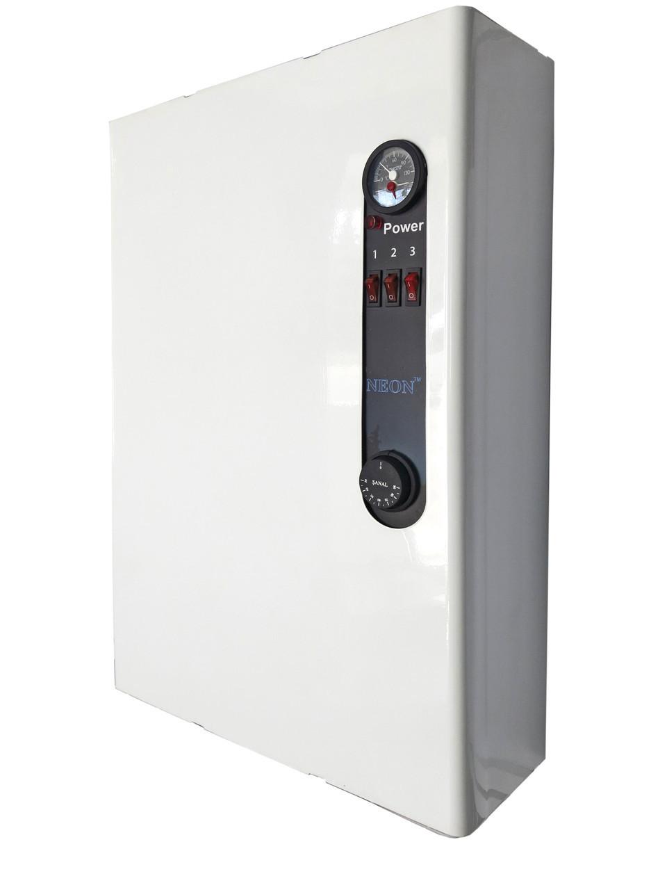 Электрокотел NEON PRO 4,5кВт 220в/380в. Магнитный пускатель