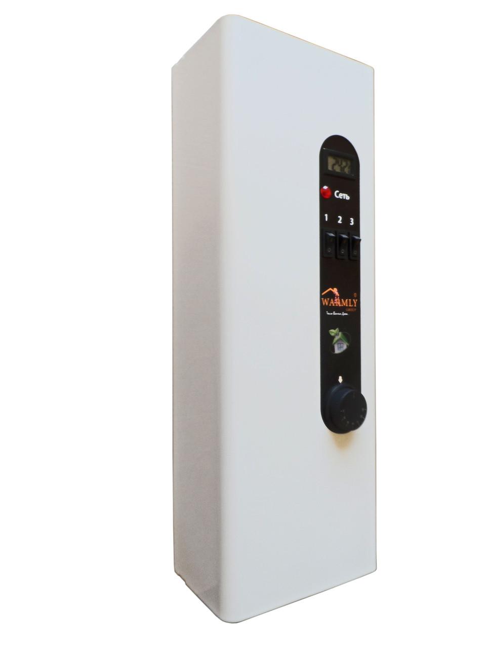 Электрокотел Warmly Classik Series 4,5 кВт 220в/380в. Модульный контактор (т.х)