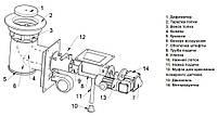 Механизм подачи топлива Pancerpol Trio 17 кВт, фото 3