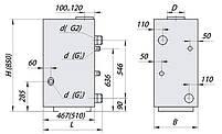 Газовый котел двухконтурный Данко-15В, фото 4
