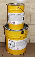 Sika Elastomastic TF эпоксидное двухкомпонентное покрытие для бетона и металла RAL 7037 комплект 20кг