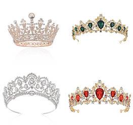 Короны, Диадемы, Тиары, Ободки, Венки, Веточки