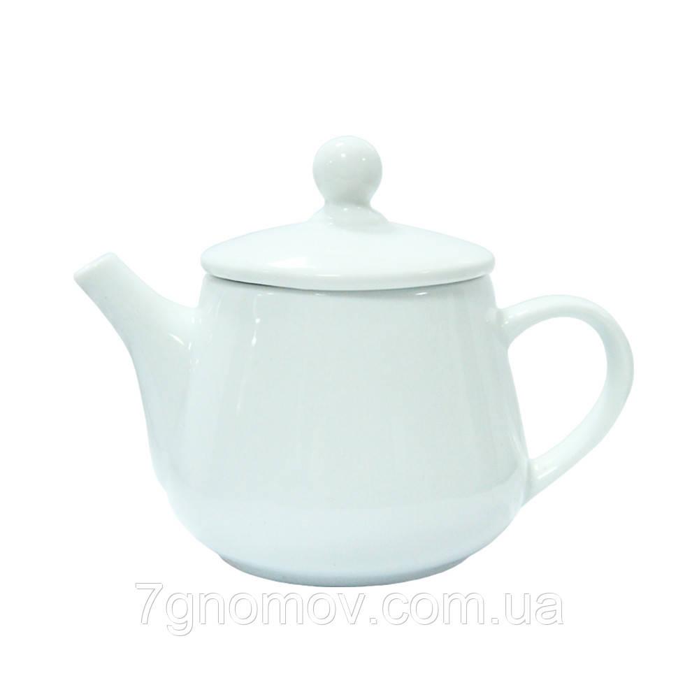 Чайник фарфоровый белый для ХОРЕКА Bailey Habana 350 мл (300-04)