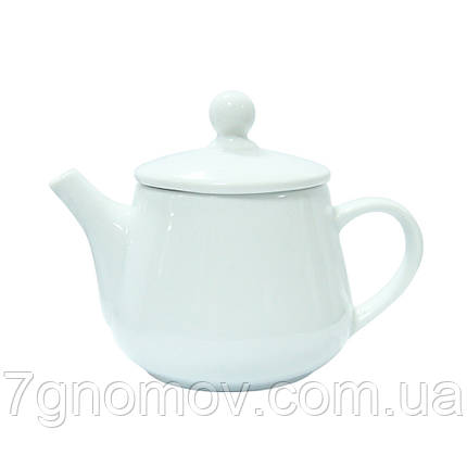 Чайник фарфоровый белый для ХОРЕКА Bailey Habana 350 мл (300-04), фото 2