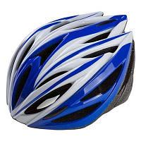 Шлем (велошлем) защитный от падений взрослый Velos 504 (синий)