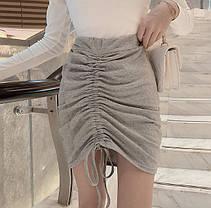 Стильна елегантна спідниця оригінального дизайну, фото 3