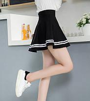 Стильная мини юбка клеш, фото 3