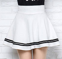 Стильная мини юбка клеш, фото 2