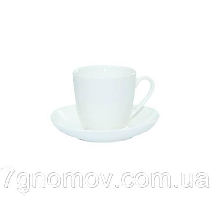 Набор 6 чашек для чая и американо Horeca Bar белый 250 мл (300-22), фото 2