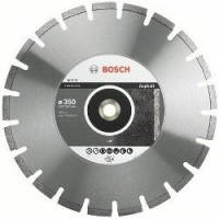 Диск отрезной сегментный Bosch по асфальту Professional 350