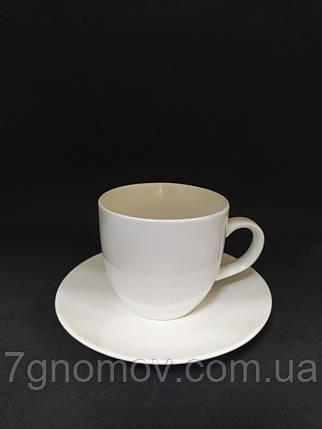 Набір 6 білих чашок для еспресо Horeca Bailey Espresso 150 мл (300-23), фото 2
