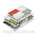 5шт вакуумные пакеты для хранения одежды 60х80см, фото 5