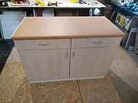 Тумбочка стол с ящиками 120 см