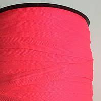 Тасьма киперная 10мм кол S-7005 неон рожевий (боб 250м) New Star