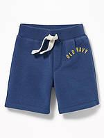 Синие трикотажные шорты с начесом Old Navy для мальчика 79 см (12-18М)